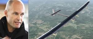Captain Bertrand Picard and the Solar Impulse