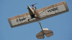 Tom Pehigny's Yuneec-powered e-Spyder