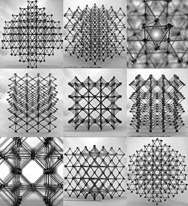 MIT's cubocts, essentially flat pieces arranged in myriad patterns