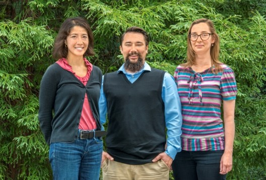 Diana Cedeno, Gary Moore and Alexandra Krawicz of JCAP (Joint Center Artificial Photosynthesis).