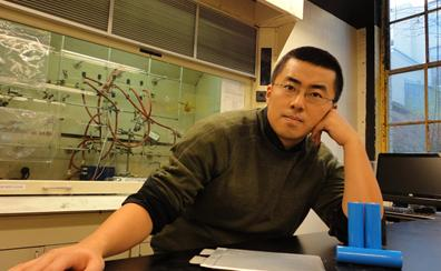 Dr. Hu, CEO and Chief Technology Officer of SolidEnergy, a high-energy team of battery developers