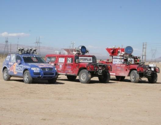 Thrun's winning Tuareg at the 2007 DARPA Challenge