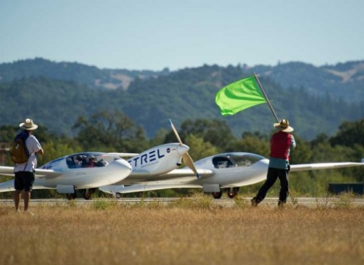 NASA's active support of the Green Flight Challenge shows strong involvement in promoting future flight