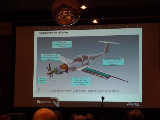 Hypstair will integrate batteries and power train into a modified Panthera airframe