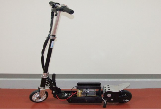 Toyota scooter powered by prototype solid-state battery