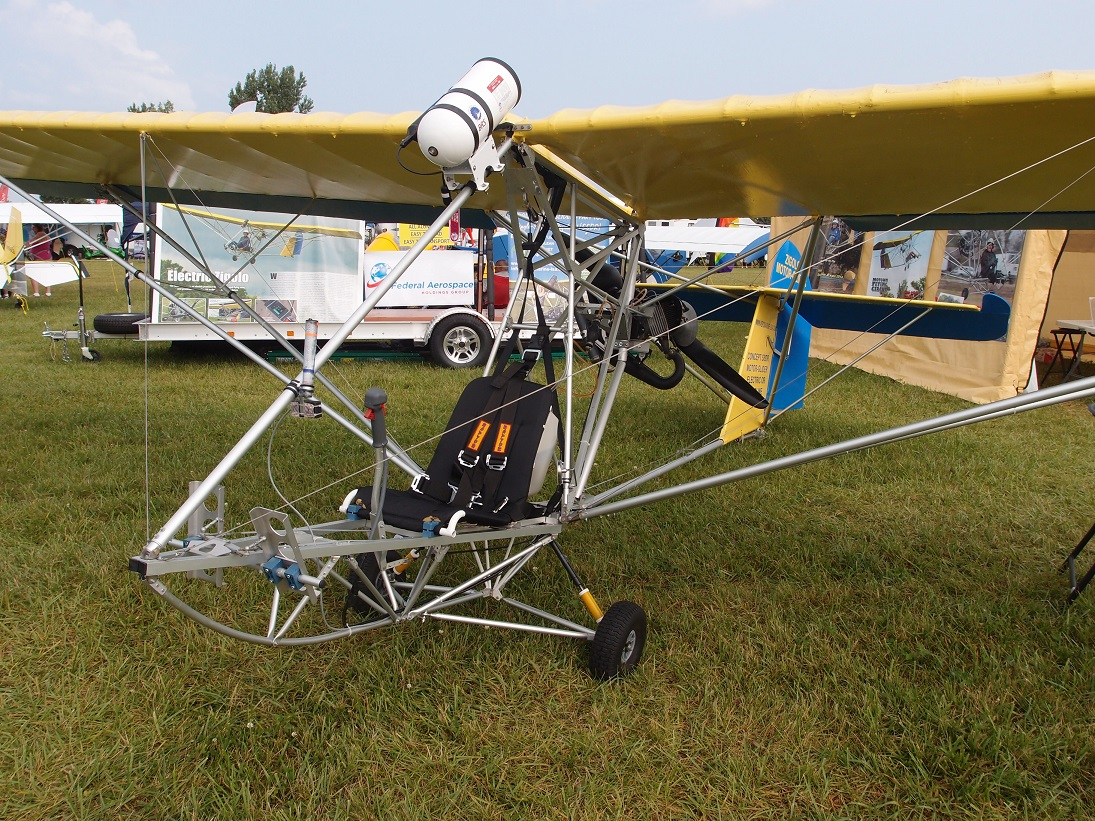 Two Ultralights Promoting Electric Power Sustainable Skies