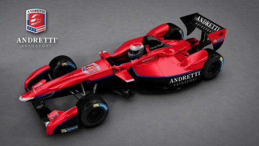 Renault Formula E chassis, two per team - in this case the Andretti Autosport group