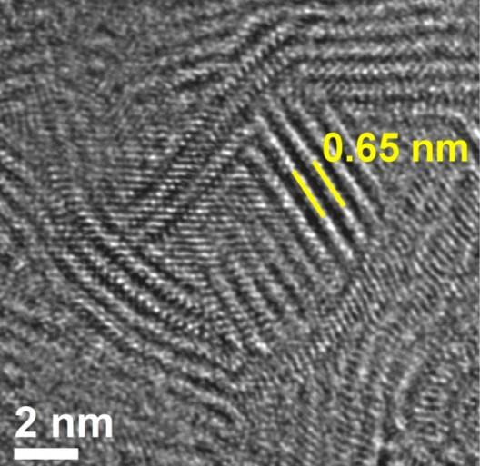 Molybdenum disulfide's edge
