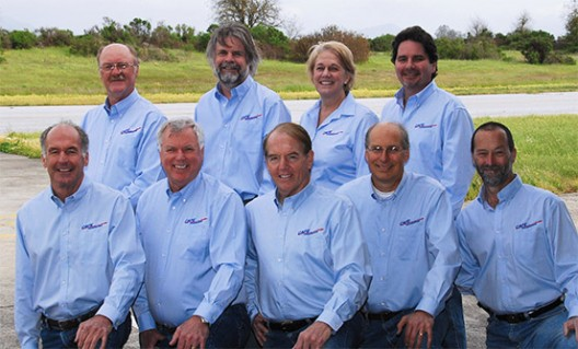 The CAFE Foundation Board: front row, L-R, Alan Soule, Larry Ford, Brien Seeley, John Palmerlee, Wayne Cook back row, L-R, Mike Fenn, Steve Williams, Jo Dempsey, Bruno Mombrinie