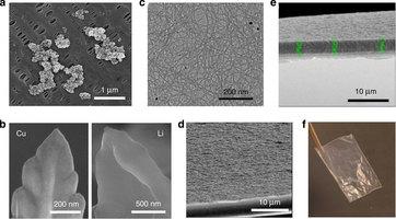 Dendrites, separator material