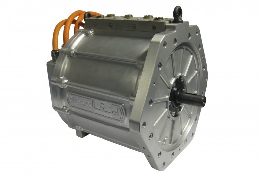 In real, non-rare-earth metal, style, the motor is ready for testing