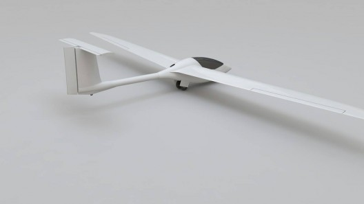 13.5-meter wings allow light weight, single-person rigging of aircraft