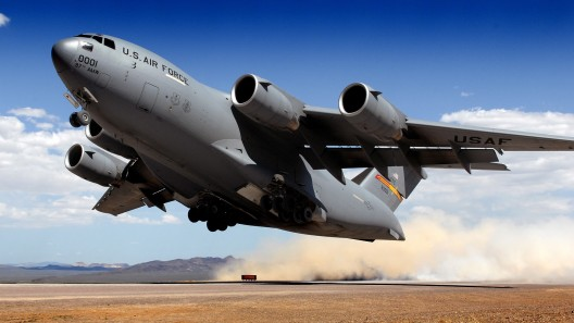 C-17 III lifting off in 2010 on 50-50 mix of jet fuel, biofuels consisting of half rendered beef tallow and half Fischer-Tropsch liquified coal or natural gas