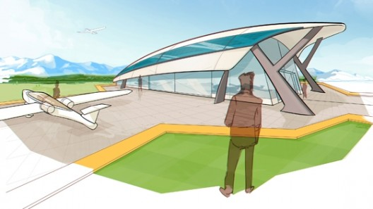 New assembly facility in Pau, France will resemble e-Fan canopy
