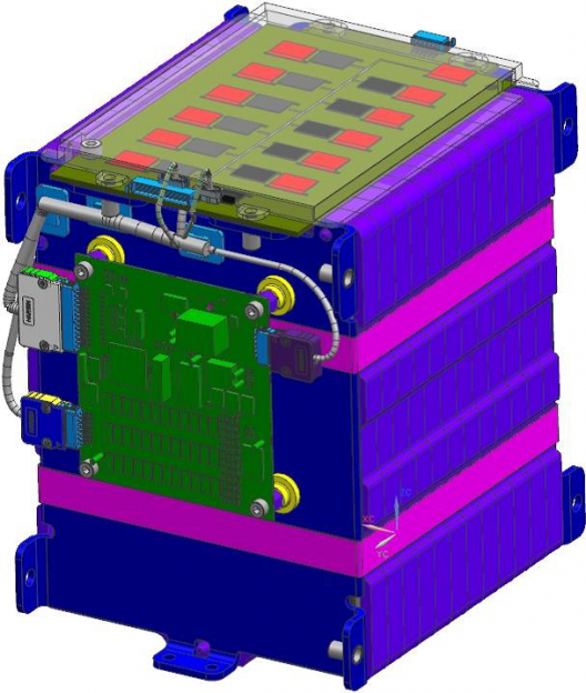 Faradion 12-cell module with battery management system (BMS)