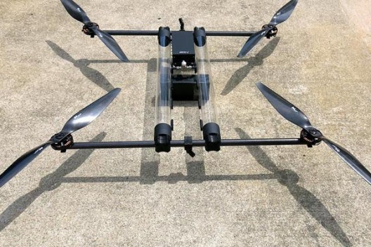 Horizon's Hycopter can fly for hour on a dollop of hydrogen