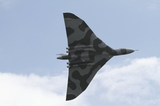British Vulcan bomber had high load-carrying capability, high speed and long range