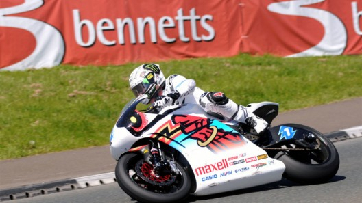 John McGuinness shows winning form on Honda/Mugen electric TT Zero bike