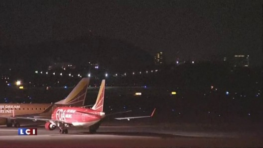 Solar Impulse making another dramatic night landing at Nogoya Airport