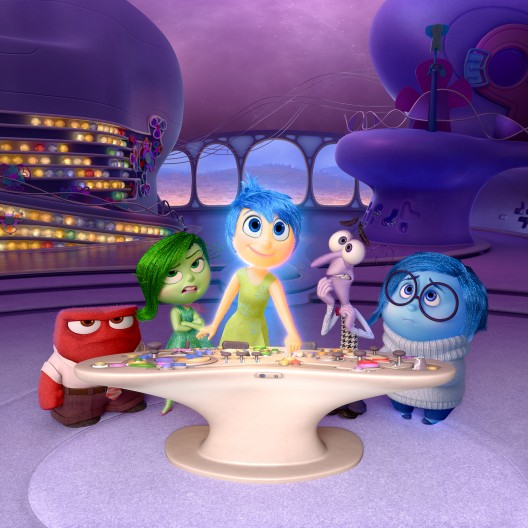 Anger, fear, trust disgust and sadness from Pixar's Inside Out.  Solar Impulse shares three other emotions