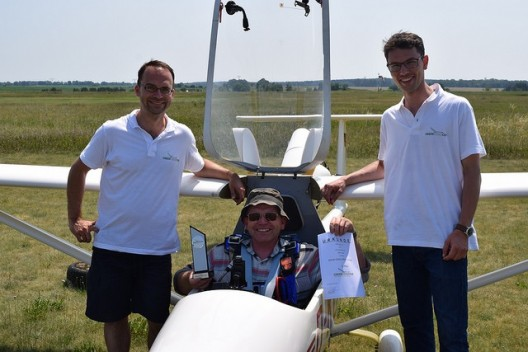 Third place winner shows winners come in all sizes - Piccolo motorglider uses small Solo two-stroke engine and still retains economical operation