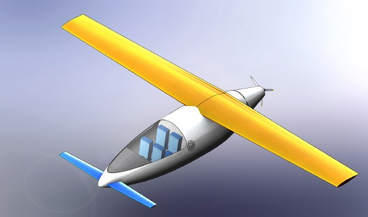 Areopn, UC Davis's second-place undergraduate winner, was perhaps the most extreme aerodynamically
