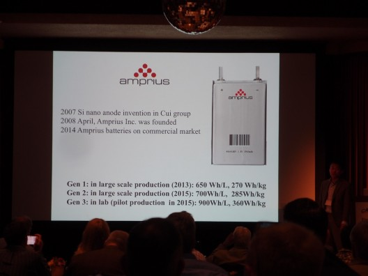 Where Amprius batteries are headed, according to Dr. Cui's EAS IX presentation