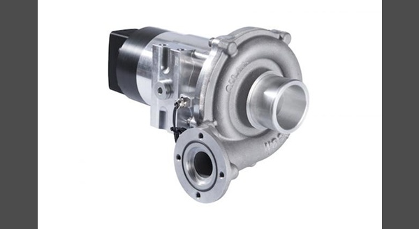 Aeristech S Electric Turbocharger Compressor Has Little External Difference From A Conventional Automotive