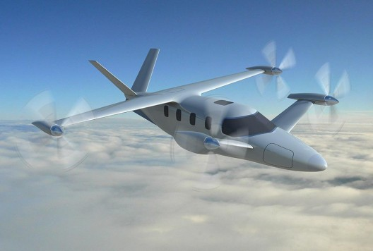 Diamond Aircraft's ambitious hybrid electric tiltrotor aircraft