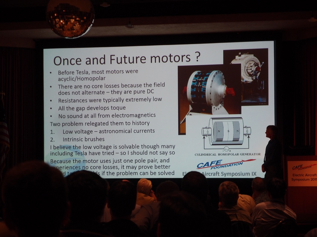 Eas Ix David Calleys Innovative Design And Use Of Electric Motors Homopolar Motor Explanation Electrical Measurement Calley Traced A Direct Descendancy From Teslas To His Current Designs