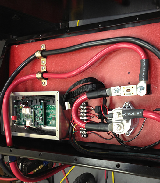 "Part of Navitas battery management system (BMS) inbuilt into battery pack.  Many of Navitas' systems are ""man-portable"""