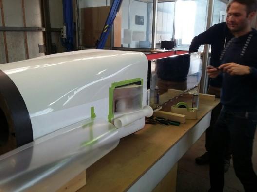 Revised air inlet on gondolas