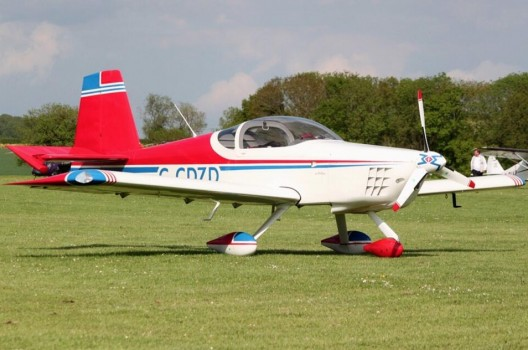 Wings of Waste's RV-9A, quicker than the original plans 172 Cessna and perhaps even more fuel efficient