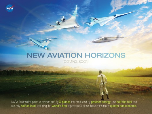 Future skies will be filled with blended-wing airliners,