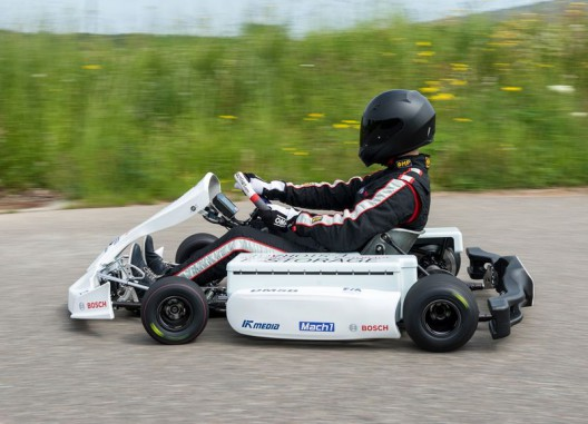 "Training wheels for future Formula E drivers, the high torque and go-cart ""flingabilty"" of such machines makes for realistic training for higher-performance machines"