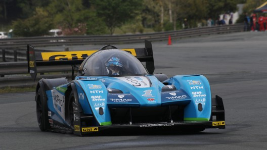 """Monster"" Tajima in TeamAPEV Rimac car with four electric motors producing over 1 kilowatt (1,340 horsepower)"