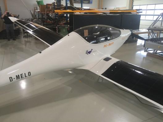 Luminati showing longer aileron, lack of flaps