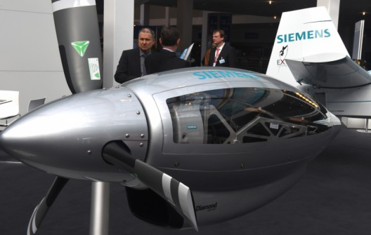 Siemens 260 Kw Motor First Flight And A Siemens At The