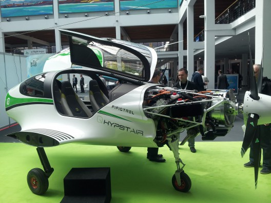 Hypstair's unveiling at Aero 2016 in Friedrichshafen, Germany in April