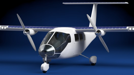 Solar-Flight's six-seat craft could carry passenger to areas not supported by normal airport niceties, like 100LL fuel