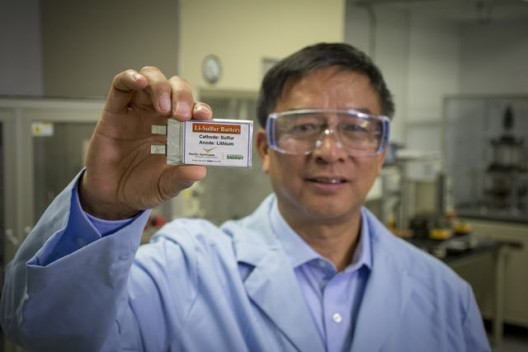 Possible outcome of Battery 500 research - 500 kWhr/kg battery
