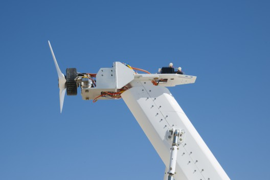 Pipistrel system on Airvolt test stand
