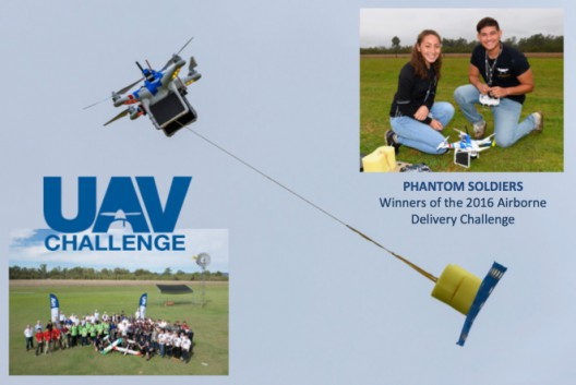Palmdale, California team won UAV Delivery Express Challenge