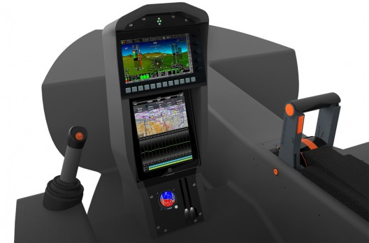 Equator's low-pilot-workload cockpit
