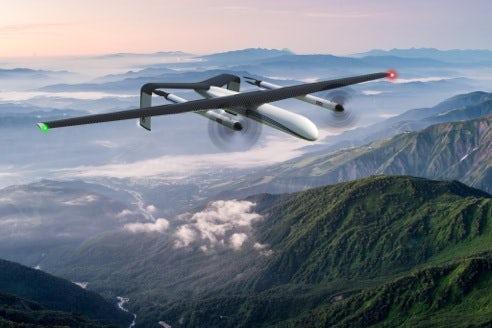 Drone gain endurance using three different technologies